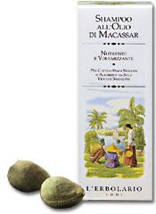 Шампунь с маслом Макассар