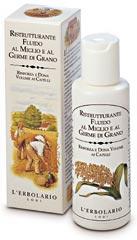 Жидкость для восстановления структуры волос с просом и зародышами пшеницы