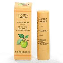 Витаминный блеск для губ с соком яблока и мандарина