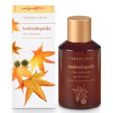 Шелковистое масло для тела Амбровое дерево