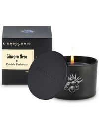 Ароматизированная свеча Черный можжевельник