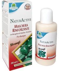 Маска для укрепления волос NaturActive с микрочастицами малахита 200 мл