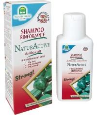 Укрепляющий шампунь для волос NaturActive с микрочастицами малахита 250 мл