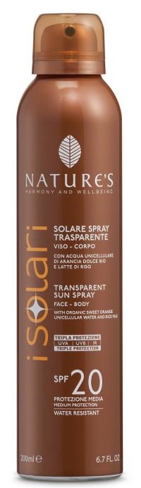 iSolari Солнцезащитный спрей для лица и тела SPF20 200 мл